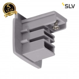 SLV 175064 End cap for S-TRACK 3-phasetrack, silver-grey