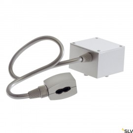 SLV 184002 Feed-in for EASYTEC II,silver-grey, cable length:40cm