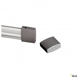 SLV 184142 End cap for EASYTEC II, 2pieces, silver-grey
