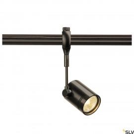 SLV 184450 BIMA 1 lamp head for EASYTECII, black, GU10, max. 50W