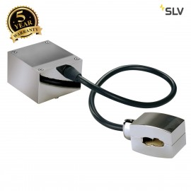 SLV 185002 Feed-in for EASYTEC II, chrome, cable length: 40cm