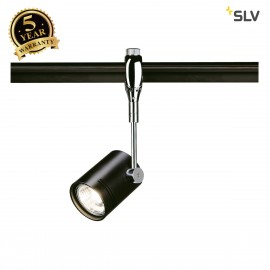 SLV 185450 BIMA 1 lamp head for EASYTECII, chrome/black, GU10, max.50W
