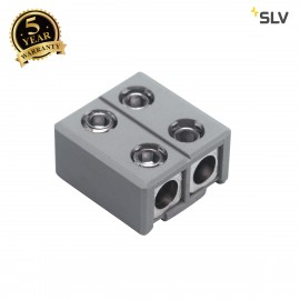 SLV 186952 Feed-in/direct connector forGLU-TRAX, grey, max. 20A