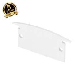 SLV 214411 GLENOS end cap for recessedprofessional profile 3314,matt white, 2 pcs.