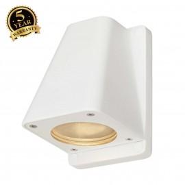 SLV 227191 WALLYX GU10 wall light, white,max. 50W, IP44
