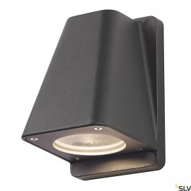 SLV 227195 WALLYX GU10 wall light,anthracite, max. 50W, IP44