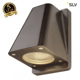 SLV 227198 WALLYX GU10 wall light,antique-bronze, max. 50W, IP44