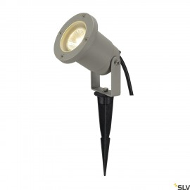 SLV 227418 NAUTILUS SPIKE, silver-grey,GU10, max. 35W, incl. 1.5mcable with mains plug