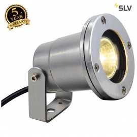 SLV 227500 NAUTILUS IP67, silver-grey,MR16, max. 35W