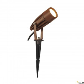 SLV 227507 SYNA LED, earth spike, rust,230V, 3000K