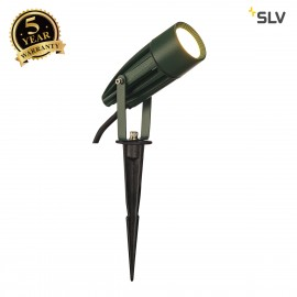 SLV 227508 SYNA LED, earth spike, green,230V, 3000K