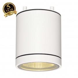 SLV 228501 ENOLA_C OUT CL ceiling light,round, white, 9W LED, 3000K,35°