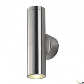 SLV 228776 ASTINA OUT ESL, alu brushed,2x GU10, max. 2x 11W, IP44