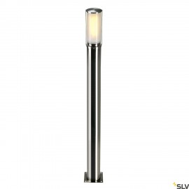 SLV 229172 BIG NAILS 80 floor light,stainless steel 304, E27 max.15W, IP44