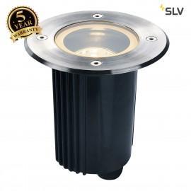 SLV 229330 DASAR 115 MR16, adjustable,round, stainless steel 316,max. 35W, IP67