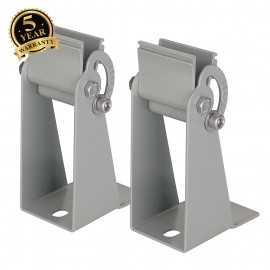 SLV 229395 Wall holders for VANO WING andVANO WING PL, silver-grey, 2pcs.
