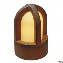 SLV 229430 RUSTY CONE floor light, rustediron, E14, max. 40W, IP54