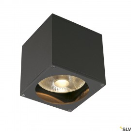 SLV 229565 BIG THEO WALL OUT wall light,square, anthracite, ES111,max. 75W
