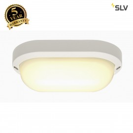 SLV 229941 TERANG 2 XL wall and ceilinglight, oval, white, 22W LED,3000K, IP44