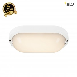 SLV 229951 TERANG 2 XL SENSOR, wall andceiling light, oval, white,3000K, IP44