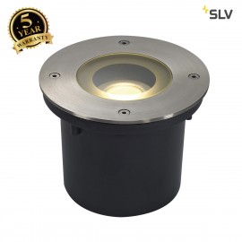 SLV 230170 WETSY LED DISK 300 ingroundfitting, round, stainl. steel316, incl. 7.7W LED