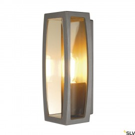 SLV 230655 MERIDIAN BOX 2 wall light,anthracite, E27, max. 25W,IP54