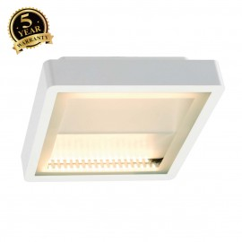 SLV 230891 INDIGLA WING ceiling light,white, 2x 36 SMD LED, 15W,3000K, IP54