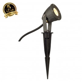 SLV 231025 NAUTILUS SPIKE LED COMPACT,anthracite, 230V LED, 3.3W,3000K, IP44