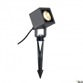 SLV 231035 NAUTILUS SQUARE LED spot light, square, anthracite, 6.7WCOB LED, 3000K