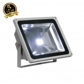 SLV 231121 LED OUTDOOR BEAM, silver-grey,50W, 5700K, 100°, IP65