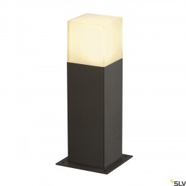 SLV 231215 GRAFIT SL 30 bollard light,anthracite/white, E27 EnergySaver, max. 11W, IP44