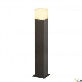 SLV 231225 GRAFIT SL 60 bollard light,anthracite/white, E27 EnergySaver, max. 11W, IP44