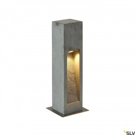 SLV 231370 ARROCK STONE LED 50 bollard,50 cm, stone-grey, 6W COB LED,IP44