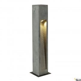 SLV 231371 ARROCK STONE LED 75 bollard,75 cm, stone-grey, 6W COB LED,IP44