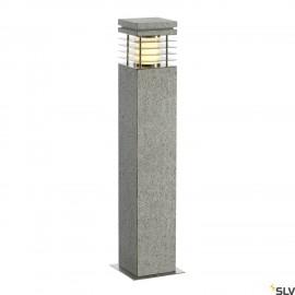 SLV 231411 ARROCK GRANITE 70 bollardlight, granite, salt & pepper,E27, max. 15W, IP44