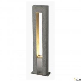SLV 231420 ARROCK ARC GU10, granite, salt& pepper, GU10, max. 35W,IP44