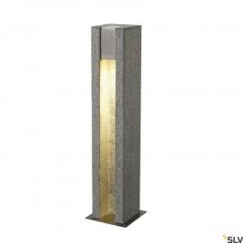 SLV 231440 ARROCK SLOT GU10, square,granite, salt & pepper, GU10LED, max. 4W, IP44