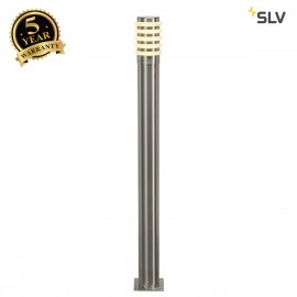 SLV 231612 BIG NAILS PLUS 80 bollardlight, stainless steel 304,E27, max. 23W, IP44