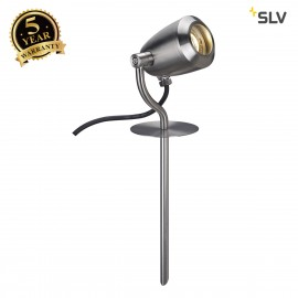 SLV 231672 CV-SPOT 40 spike light,stainless steel 304, GU10,max. 4W, IP65