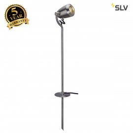 SLV 231682 CV-SPOT 80 spike light,stainless steel 304, GU10,max. 4W, IP65