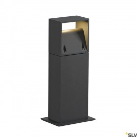 SLV 232115 LOGS 40 outdoor floor stand,square, anthracite, 6W LED,3000K, IP44