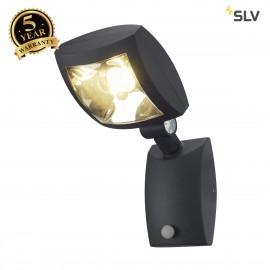 SLV 232405 MERVALED S wall light,anthracite, 12W LED, warmwhite, with motion sensor