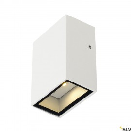 SLV 232461 QUAD 1 wall light, square,white, LED, 1x3W, 3000K, IP44