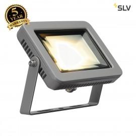 SLV 232804 SPOODI LED spot, square,silver-grey, 8.3W COB LED,3000K, IP55