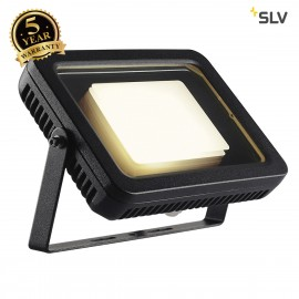 SLV 232820 SPOODI floodlight, square, 30W, black, 3000K LED