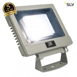 SLV 232894 SPOODI SENSOR, LED Outdoor surface-mounted wall light, 30W, silver-grey, 4000K
