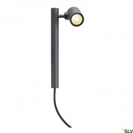 SLV 233275 HELIA Spot, single sandyanthracite, 8W LED, 3000K