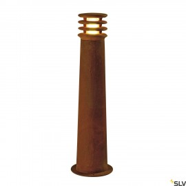 SLV 233417 RUSTY 70 LED ROUND floor stand, rusted iron, 8.6W COB LED,3000K, IP55