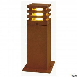 SLV 233427 RUSTY 40 LED SQUARE floorstand, rusted iron, 8.6W COBLED, 3000K, IP55