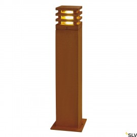SLV 233437 RUSTY 70 LED SQUARE floorstand, rusted iron, 8.6W COBLED, 3000K, IP55